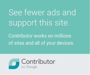 See fewer adds and support this site
